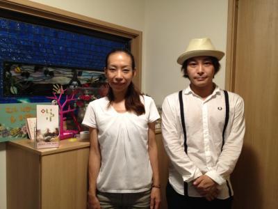 N&Sの粉奈さんと細谷さん